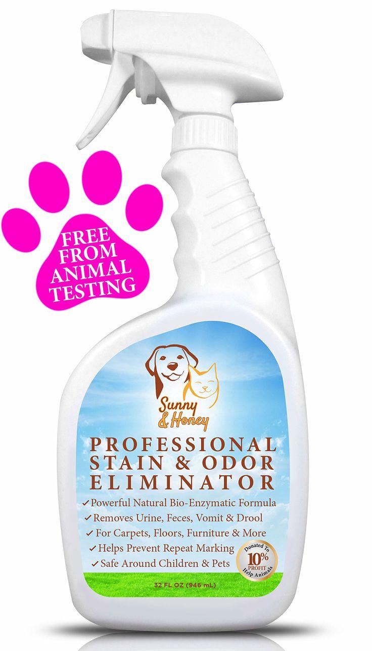 Amazon com enzyme cleaner pet stain remover odor eliminator best carpet