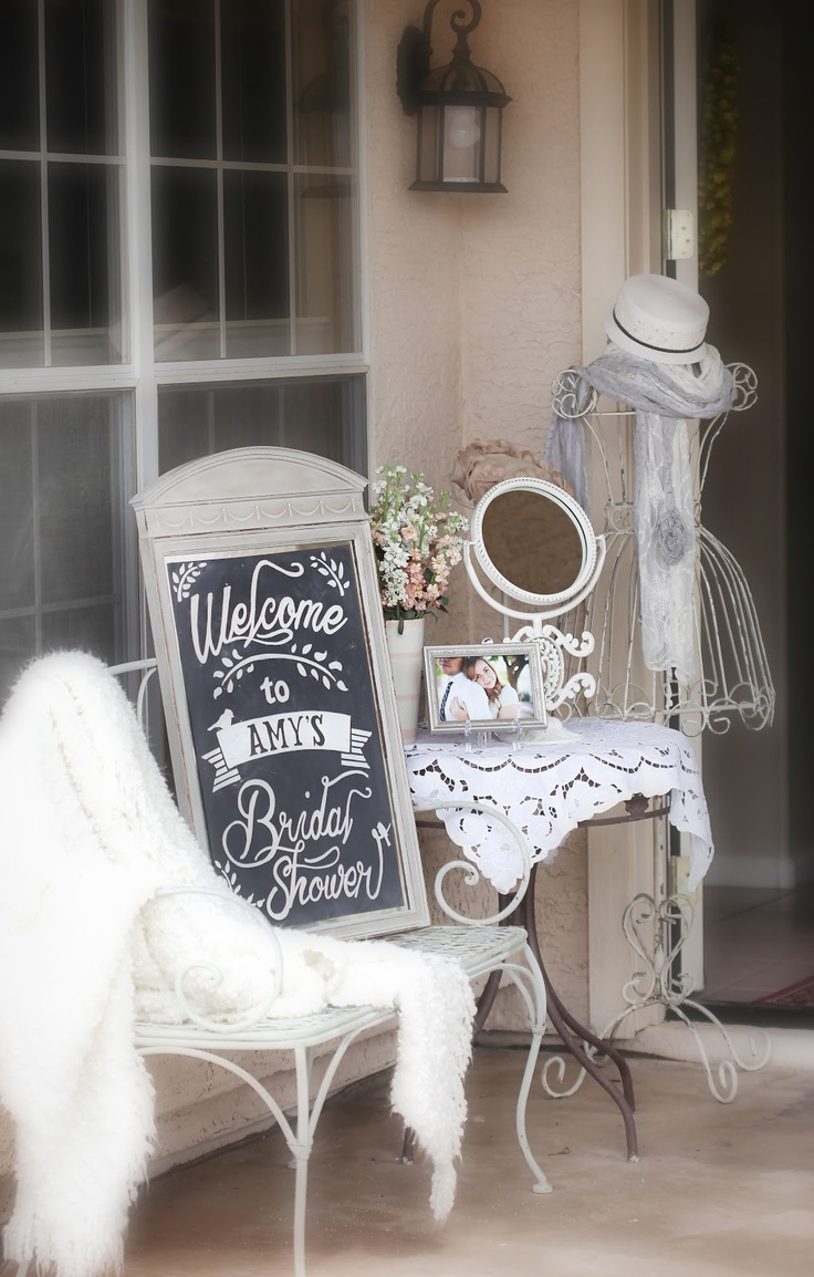 wedding shower poem ideas%0A So many pretty things and a Bridal Shower   Photo heavy