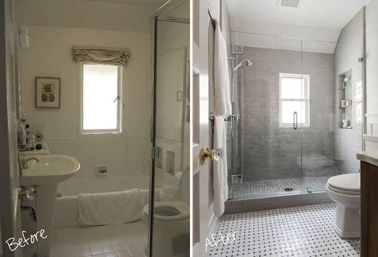 Small Bathroom Remodel Before And After Google Search