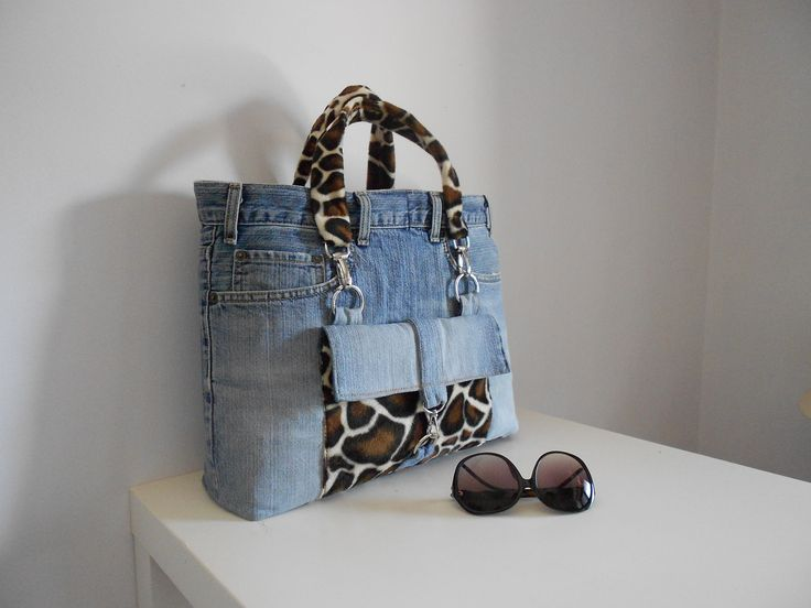 Day out with St. Tropez bag.By My Jeans Bag #bags #jeansbag #style