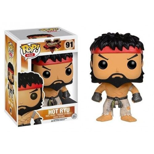 Funko Hot Ryu First to Market, Street Fighter, Bait Exclusive, Pop! Asia, SF, Games, Funkomania