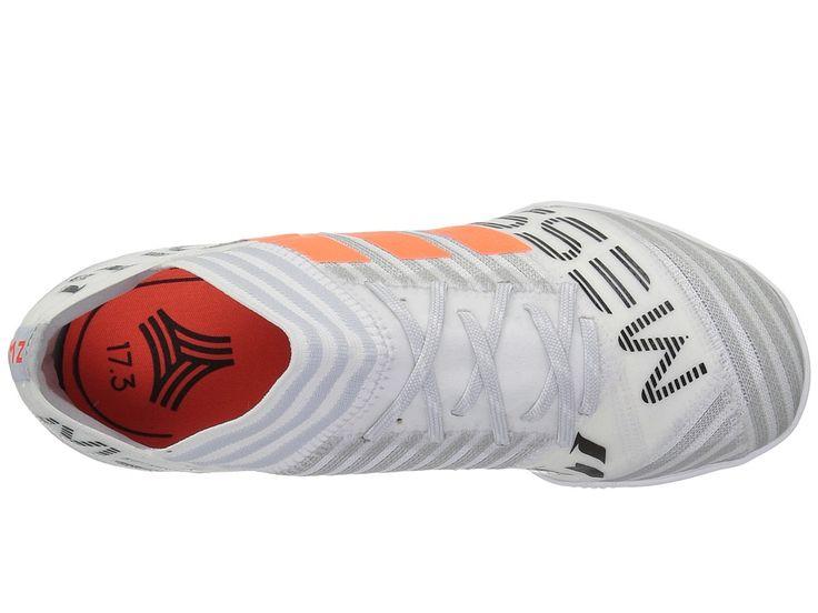 adidas Kids Nemeziz Messi Tango 17.3 IN J Soccer (Little Kid/Big Kid) Kids Shoes White/Orange/Black