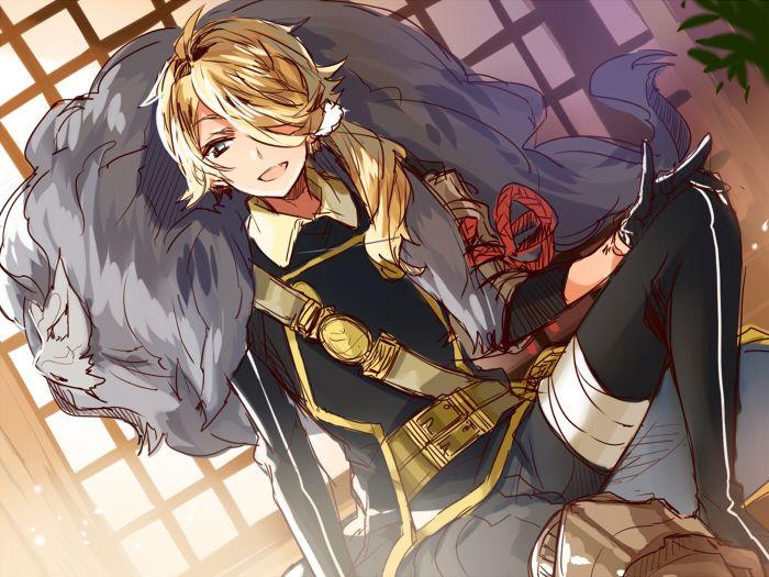 egoringo: すんごい久しぶりにらくがきできた!(感動)とりあえず練習目的で刀剣乱舞キャラ描いてみました。師子王は初期組でみっちゃんと一緒に頑張ってくれた愛着あるキャラクターです。大太刀も槍も薙刀も誰一人来てなかったからさぞ大変だったろうに・・・(´・ω・`) けびーしさんが邪魔してなかった頃だったから太刀+打刀だけで5面クリアしてたよやっぱり元気な子とやんちゃな子は良いね 最近はギネとたぬきが可愛い毎日ですちなみに子狐丸と明石だけ来ない。備前国には狐はいない。