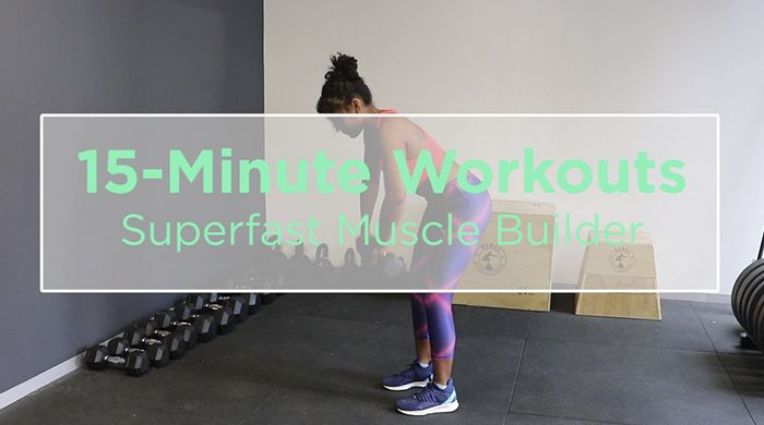 This 15-Minute Workout Will Help You Build Muscle Super-Fast