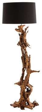 Ashland Gold Leaf Dragon Mangrove Global Tree Root Floor Lamp transitional-floor-lamps