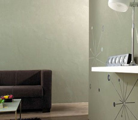 1000 id es sur le th me peinture effet beton sur pinterest murs b ton color et chambres rouges. Black Bedroom Furniture Sets. Home Design Ideas