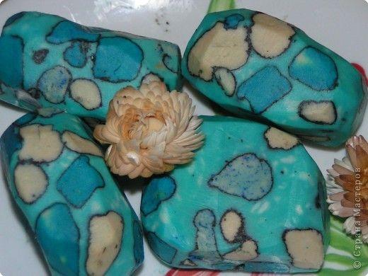Мастер-класс 8 марта День рождения Мыловарение Наконец-то Мои первые мыльные камни- бирюза *Подробный МК Мыло фото 1