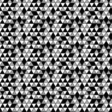 Triangle Party fabric by effiedee on Spoonflower - custom fabric