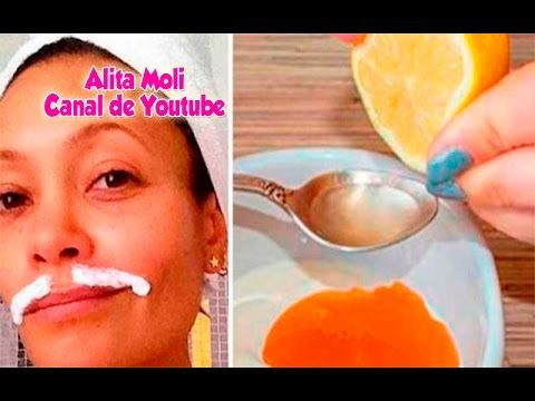 Solo 3 ingredientes y 15 minutos para esta receta y quitar tu vello facial. Piel de bebe!