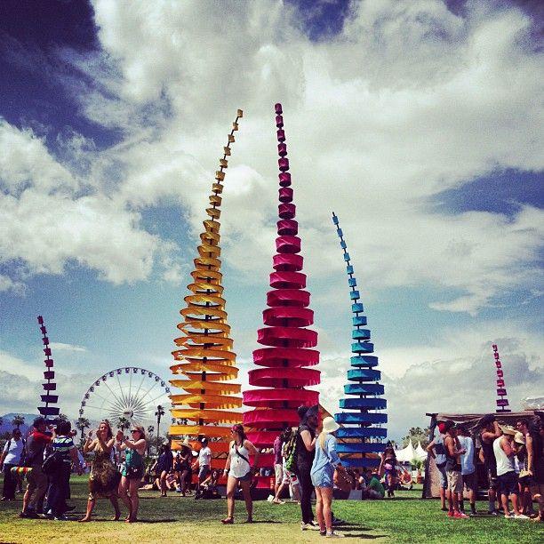 Coachella Art Instillation