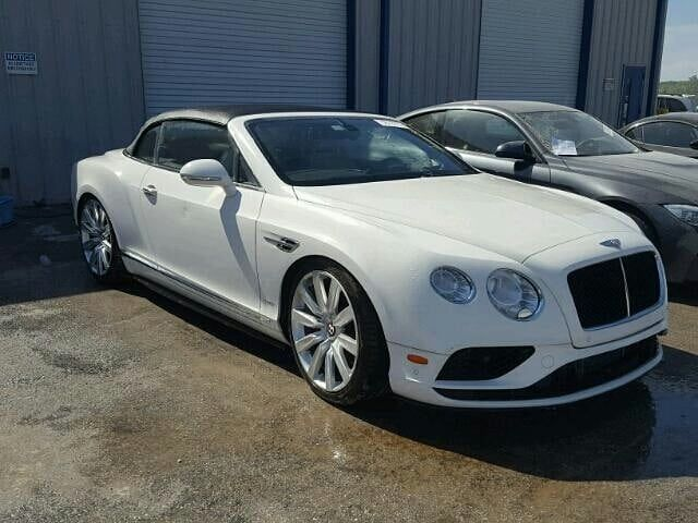 Bently Damaged Interior And Rear Super Cars Bentley Continental Gt Speed Best Car Insurance