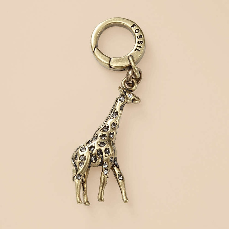 FOSSIL® Jewelry Charms :Charms Giraffe Charm JA5433 - $24.00