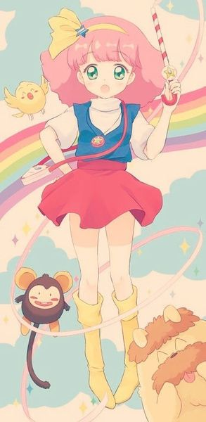 Sailor moon and Gigi, Minky Momo is when anime was perfect. They didnt have to try to hard to make it magical