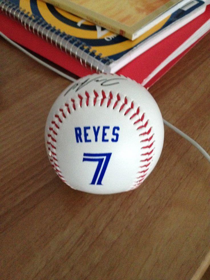Jose Reyes baseball!!! #bluejays #jaysshop