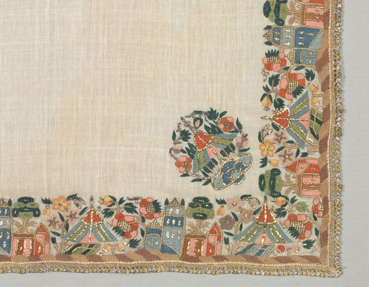 Embroidered head scarf | Page 4 | Cleveland Museum of Art