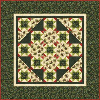 Christmas Quilt Kits designed by Michele Crawford