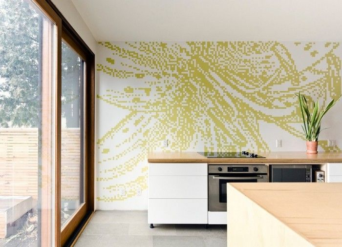 find this pin and more on backsplash ideas for the home kitchen design - Ideas For Kitchen Walls