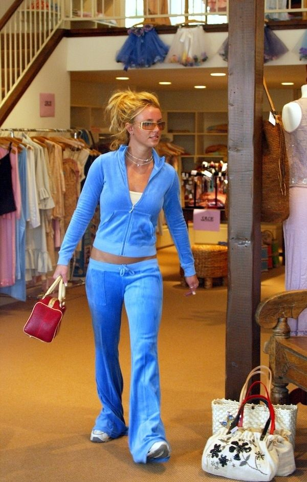 Juicy Couture Tracksuits   20 Status Symbols Gen Y Girls Grew Up With