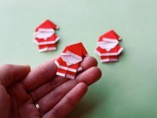 【創意動手作-節慶】可愛的聖誕老公公摺紙