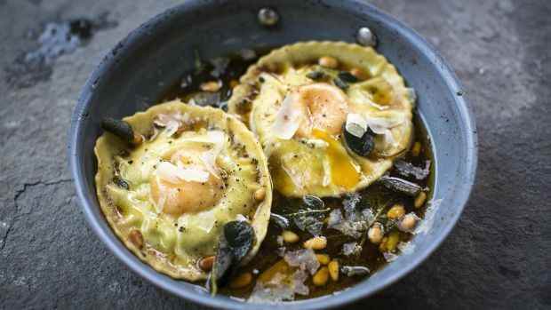about Egg Yolk Ravioli on Pinterest | Brown butter sage sauce, Truffle ...
