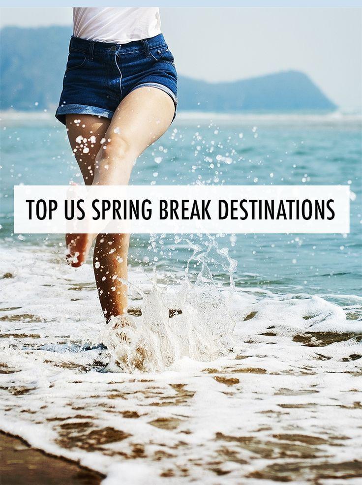 Top US spring break destinations