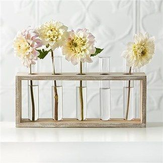 Test Tube Vases- $5 | 23 Clever Kmart Hacks That'll Take Your Decor To The Next Level
