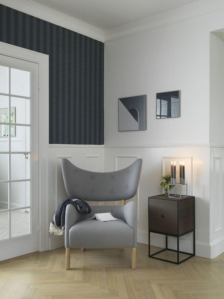 Flemming Lassens skulpturelle lænestol 'My Own Chair' er længe blevet beundret…