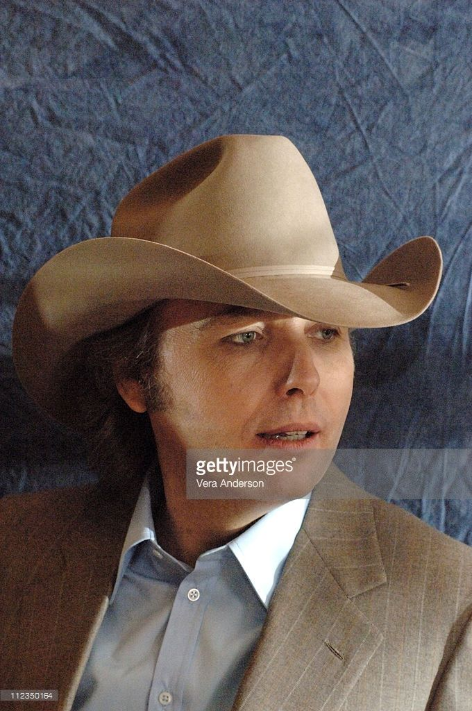 Dwight Yoakam during 'Three Burials of Melquiades Estrada' Press Conference with Dwight Yoakam, Barry Pepper, Tommy Lee Jones and Guillermo Arriaga at Four Season's Hotel in Beverly Hills, California, United States.