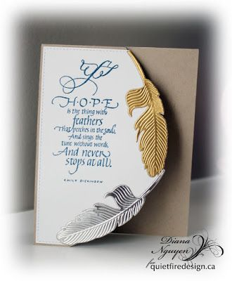 Quietfire Creations: Hope is the thing with feathers