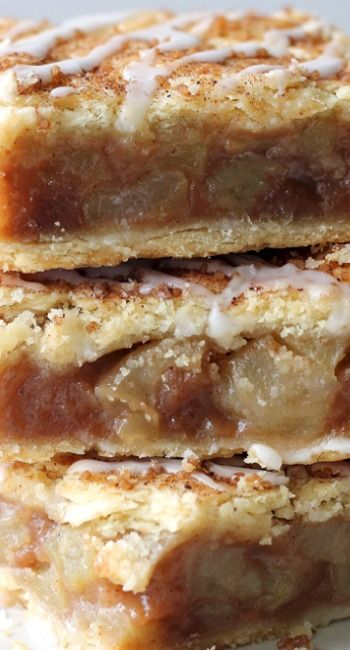Apple Pie Bars---love apple pie bars, this recipe looks easier than the one I am currently using. Worth a try.