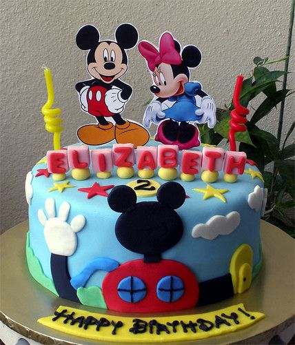 The  Best Mickey Mouse Cake Decorations Ideas On Pinterest - Mickey birthday cake ideas