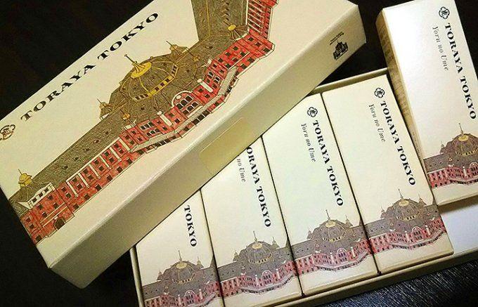 東京駅限定 とらや 小形羊羹 Yokan, Toraya available only at Tokyo Station