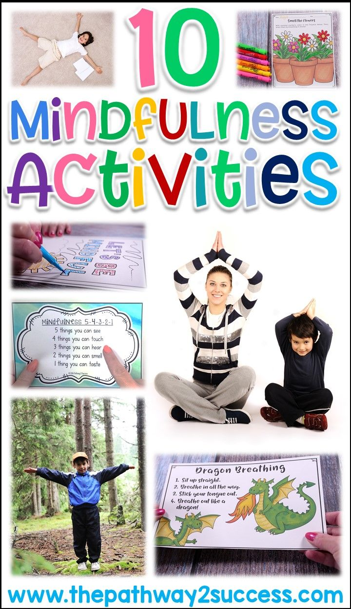 Read this blog post about ten different ways you can practice mindfulness with kids and young adults! Strategies include deep breathing, using your senses, yoga, connecting with nature, and more.