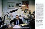 Ian Hislop for The Telegraph Magazine by Inzajeano Latif
