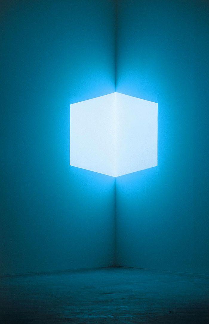 Tadao Ando à Naoshima, James Turrell, « Afrum, Pale Blue » (1968) © Fujitsuka Mitsumasa