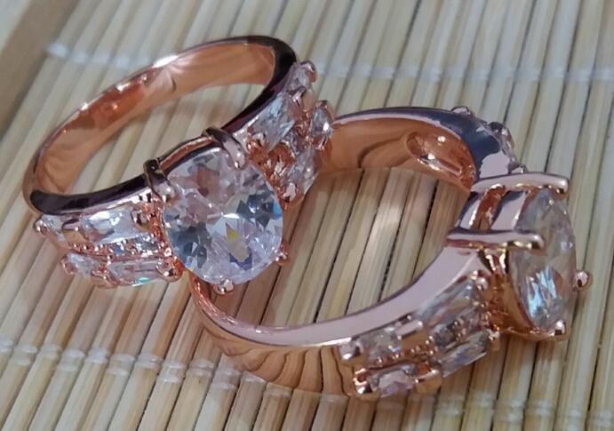 2016 день Великолепная 14k Твердое желтое золото Белый сапфир Wedding Валентайн подарка Обручальное Большое кольцо для женщин Sz7.5 P103gold Свадьба От Yangstore2013, $ 11,96 | Dhgate.Com