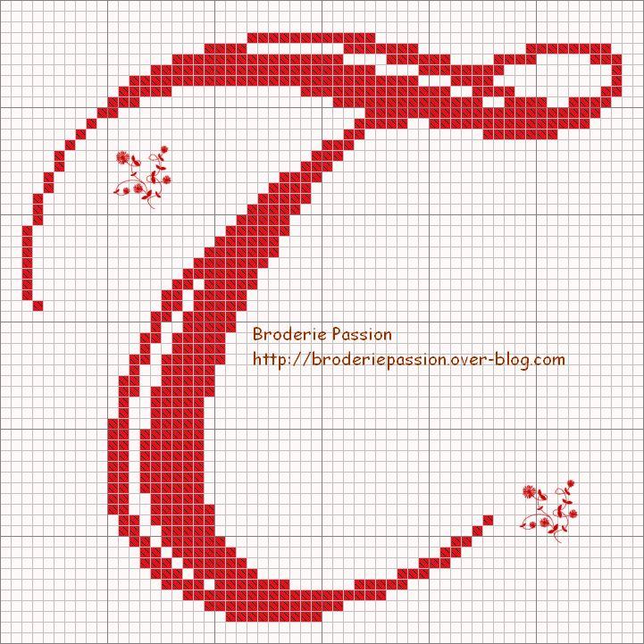 broderiepassion-abc belles lettres2- t.gif 721×721 píxeles