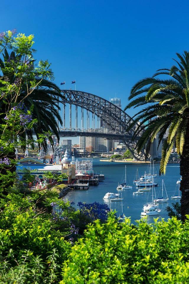 SYDNEY HARBOUR BRIDGE | SYDNEY | NEW SOUTH WALES | AUSTRALIA