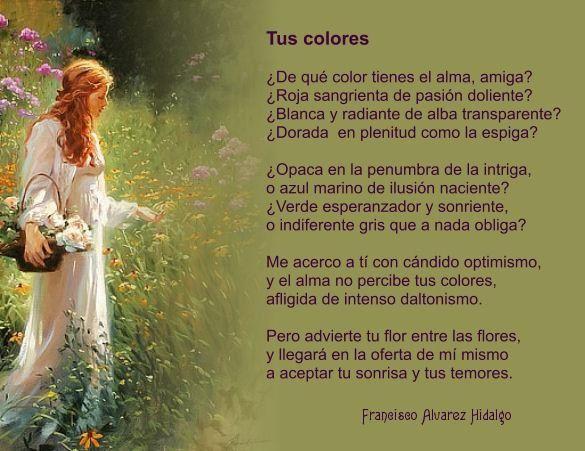 Soneto escrito por Francisco Álvarez Hidalgo