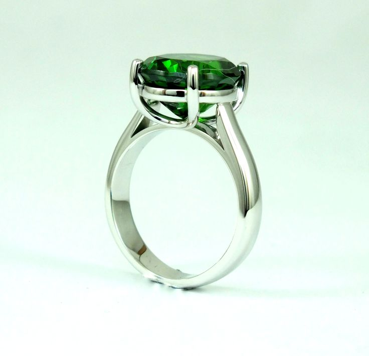 www.elementaldesign.co.za  Tsavorite Stone 12 ct, handcrafted by John Stedman
