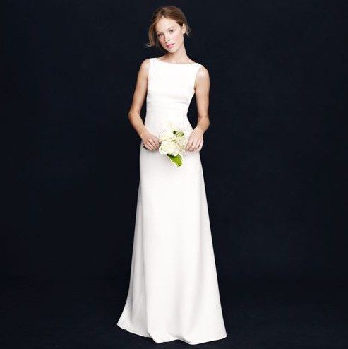 36 wedding dresses for the elegant minimalist. (#6 is my favorite! I'm that much of simple minimalist)
