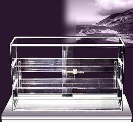 Acrylic Countertop Displays - Clear Acrylic Countertop Security Showcase