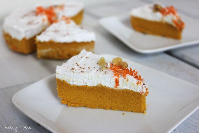 Carrot cake fudge (gluten-free, vegan, paleo, low sugar, soy-free, nut ...