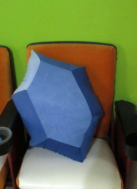 Picture of Legend of Zelda Rupee Pillow