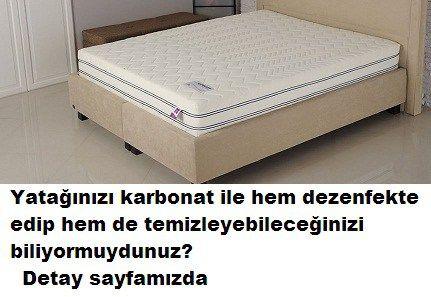 Yatak temizliği doğal olarak nasıl yapılır