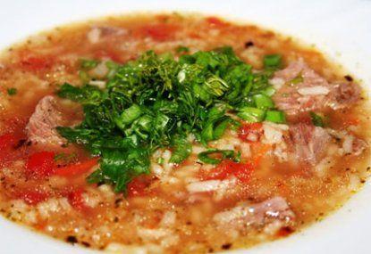 """Рецепт суп """"Харчо"""""""