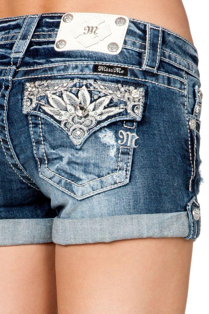 MISS ME Shorts Lacey Jewels JP5970H3 - 78 Best Miss Me Jeans Images On Pinterest Miss Mes, Buckle Jeans