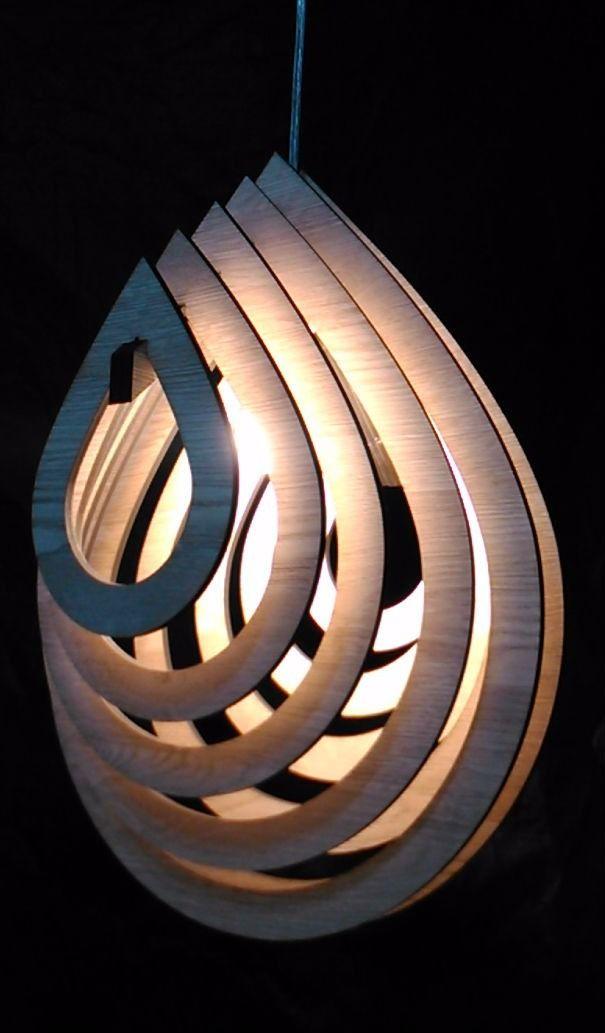 pendente cora em madeira fabricação propria