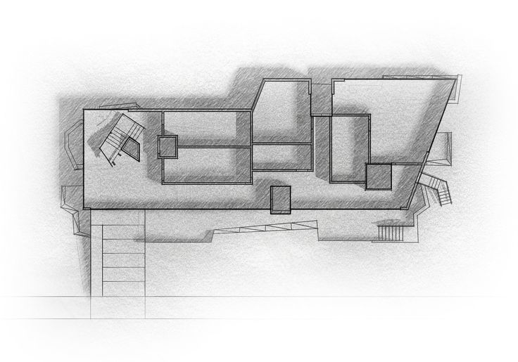 Level 1; Archaeo Center; 2N Architectural Design; www.nikosnasis.com