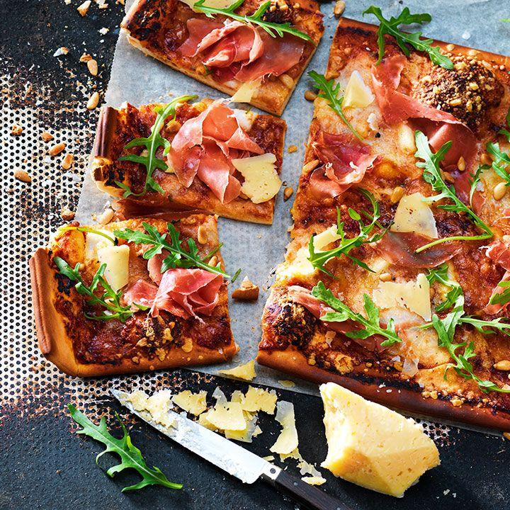 PIZZA MED VÄSTERBOTTENSOST® EXTRA LAGRAD – Västerbottensost